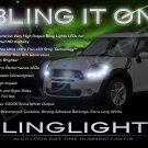 2011 2012 2013 Mini Countryman LED Strips Headlamp Headlight Head Lamps Day Time Running Lights DRLs