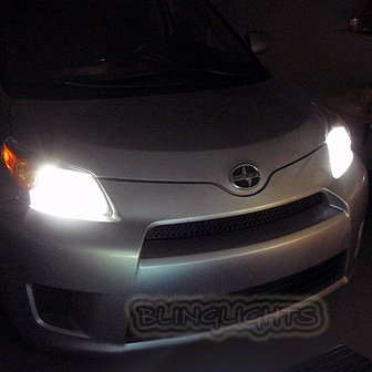 2008 2009 2010 2011 2012 Scion xD Bright White Upgrade Light Bulbs for Headlamps Headlights