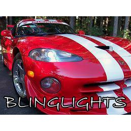 1992-2004 Dodge Viper Bright White Replacement Light Bulbs for Headlamps Headlights Upgrade