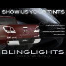 Mazda BT-50 BT50 Tinted Smoked Taillamps Taillights Tail Lamps Lights Protection Overlays Film