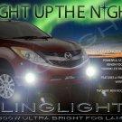 Mazda BT-50 BT50 Xenon Fog Lamps Driving Lights Kit Set Foglamps Foglights Drivinglights