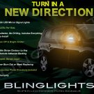 Chevrolet Chevy Orlando LED Side Mirrors Turnsignals Lights Turn Signals Lamps Mirror Signalers