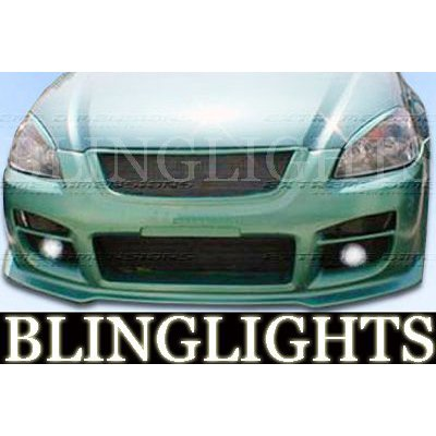 2002 2003 2004 2005 2006 Nissan Altima Extreme Dimensions Body Kit Foglamps Fog Lamps Driving Lights