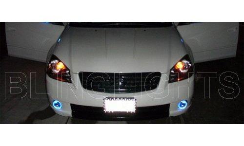 2005 2006 Nissan Altima 25 35 S SE SL Halo Angel Eye Fog Lights Lamps