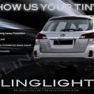 Subaru Outback Tinted Smoked Tail Lamps Lights Overlays Film Protection