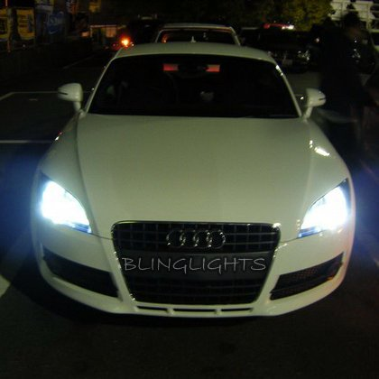 Audi TT Bright White Replacement Light Bulbs 8J 8N Halogen Headlamps Headlights Head Lamps Lights