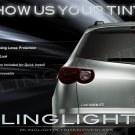 2009 2010 2011 2012 Chevrolet Traverse Smoked Taillight Film Overlays