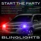Chevrolet Chevy Grand Blazer Strobe Police Light Kit for Headlamps Headlights Head Lamps Lights