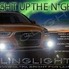 2012 2013 2014 Audi Q3 Xenon Fog Lamps Driving Lights Foglamps Foglights Kit 2.0 TFSI TDI