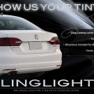 VW Jetta Mk6 Tinted Smoked Taillamps Taillights Overlays Film Protection