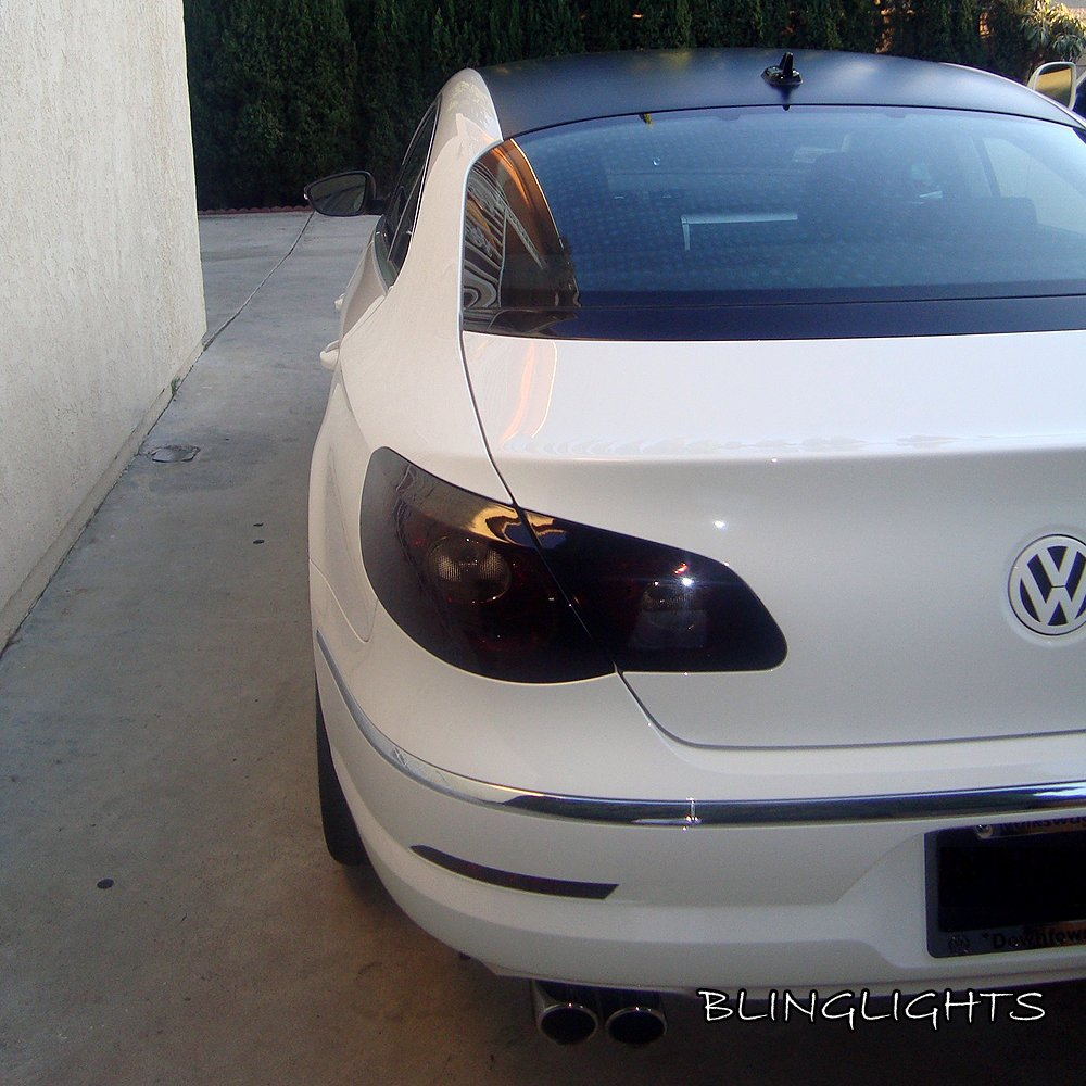 Volkswagen Vw Passat Cc Tinted Smoked Protection Overlays
