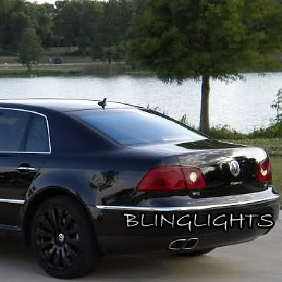 Volkswagen VW Phaeton Tinted Smoked Protection Overlays for Taillamps Taillights Tail Lamps Lights