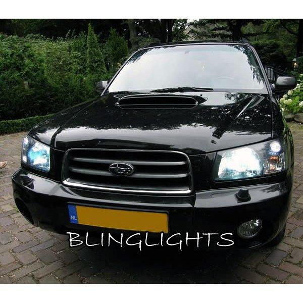 Subaru Forester Bright White Head Lamp 4750K Light Bulbs