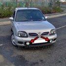 2000-2003 Nissan Micra Halo Fog Lamp Driving Light Kit K11c Angel Eyes