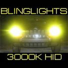 880 881 3000K Yellow Gold 55 Watt Xenon HID Lamp Conversion Kit 55w 55watt VHO HIDs JDM Lights