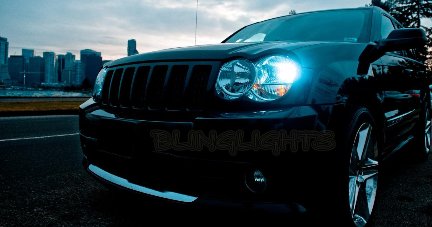 Jeep Grand Cherokee ZJ WJ WK WK2 Xenon HID Conversion Kit for Headlamps Headlights Head Lamps Lights