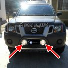 Nissan Xterra Bull Bar Off Road Driving Lights Bumper Auxilliary Lamps