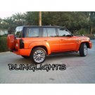 Nissan Patrol Safari Y61 Tinted Protection Overlays Film for Taillamps Taillights Tail Lamps Lights