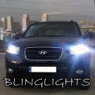 2007 2008 2009 2010 2011 2012 Hyundai Santa Fe Bright White Light Bulbs for Headlamps Headlights