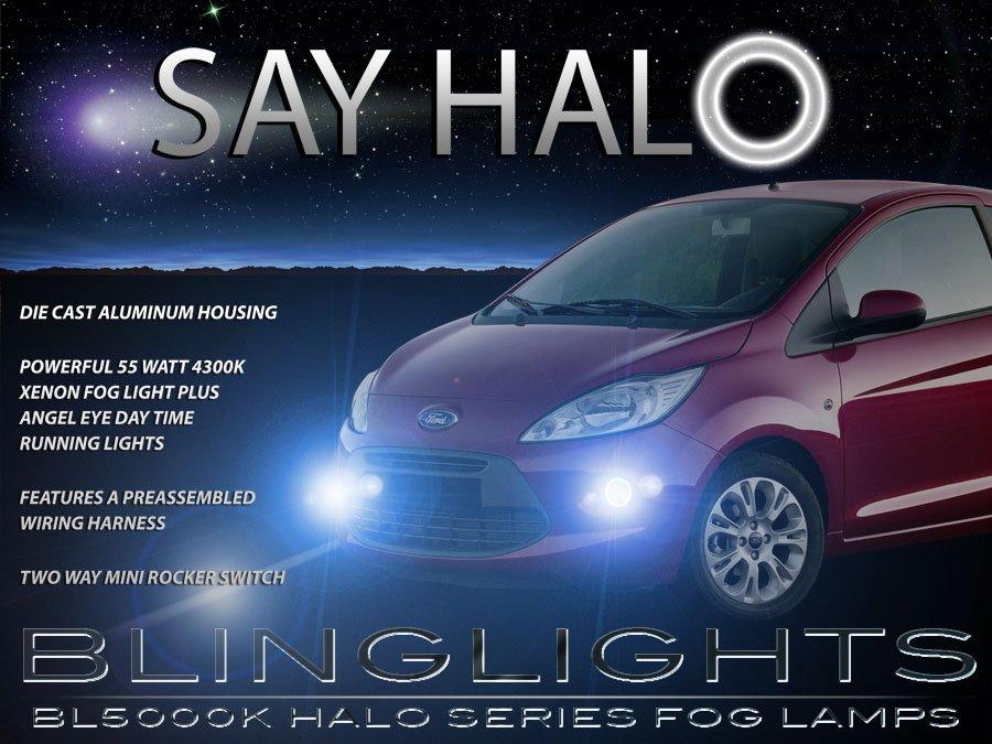 2008-2014 Ford Ka Angel Eye Fog Lamps Driving Lights