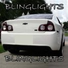 2008-2012 Chevrolet Malibu Murdered Out Tail lamp Tint Covers Light Overlays Chevy
