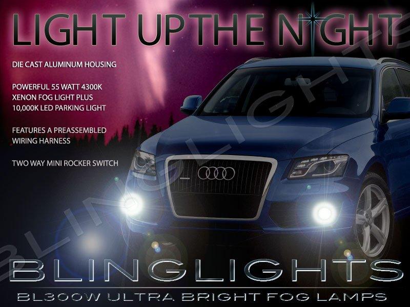 2009 2010 2011 2012 Audi Q5 Xenon Fog Lamps Driving Lights Foglamps Foglights Kit