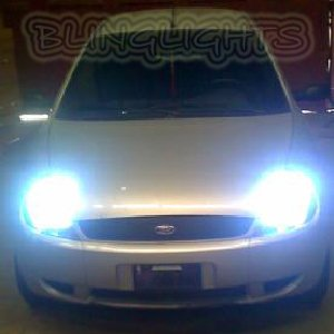 2002 2003 2004 2005 2006 2007 Ford Ka Bright White Replacement Light Bulbs for Headlamps Headlights
