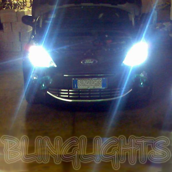 2008 2009 2010 2011 2012 2013 Ford Ka Bright White Replacement Light Bulbs for Headlamps Headlights