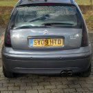 2006 2007 2008 Citroën C3 Tinted Smoked Taillamps Taillights Protection Overlays Film