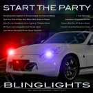 Z34 Nissan 370Z Fairlady Z Police Strobe Light Kit for Headlamps Headlights Head Lamps Lights