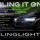 Citroen Citroën DS4 LED DRL Strips for Headlamps Headlights Head Lamps Day Time Running Lights DRLs