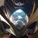 2001 2002 2003 Suzuki GSX-R600 GSXR 600 Bright White High Low Light Bulbs for Headlamp Headlight
