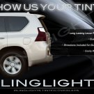 Lexus GX460 GX 460 Tinted Smoked Protection Overlays Film for Taillamps Taillights Tail Lamps Lights