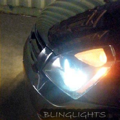 Kia Sedona Bright 4750K White Head Lamp Replacement Light Bulbs Set