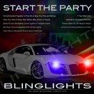 Audi R8 Strobe Police Light Kit for Headlamps Headlights Head Lamps Strobes Lights