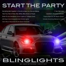 Audi A6 S6 RS6 Strobe Police Light Kit for Headlamps Headlights Head Lamps Strobes Lights