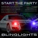 Audi A7 Strobe Police Light Kit for Headlamps Headlights Head Lamps Strobes Lights