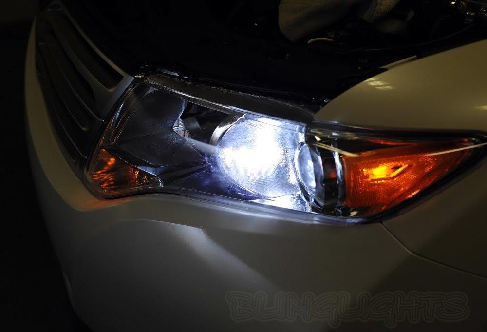 Toyota Venza Bright White Halogen Light Bulbs for Headlamps Headlights Head Lamps Lights