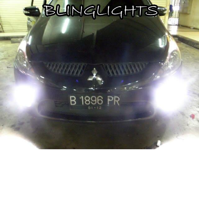 2003-2011 Mitsubishi Grandis Halo Foglamps Angel Foglights Fog Lamps Driving Lights Kit