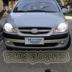 Hyundai Getz Bright White Replacement Light Bulbs for Headlamps Headlights Head Lamps Lights
