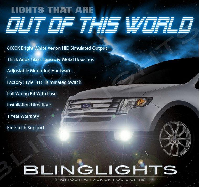 2007 2008 2009 2010 Ford Edge Driving Lamps Fog Lights Kit