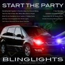Ford Galaxy Strobe Police Light Kit for Headlamps Headlights Head Lamps Lights Strobes