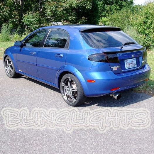 Suzuki Reno Tinted Smoked Protection Overlays Film for Taillamps Taillights Tail Lamps Lights