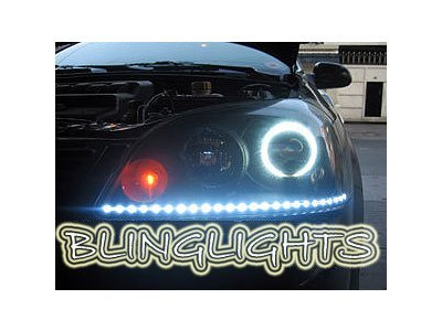 Suzuki Forenza LED DRL Light Strips Headlamps Headlights Head Lamps Day Time Running Strip Lights