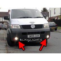 Volkswange VW T5 Transporter Shuttle Xenon Fog Lamps Driving Lights Foglamps Foglights Kit