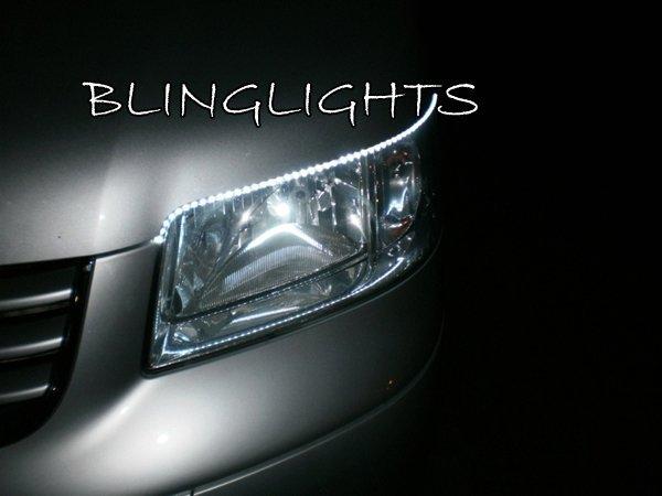 Volkswagen VW Eurovan T5 Multivan LED DRL Strips for Headlamps Headlights Head Lamps Lights