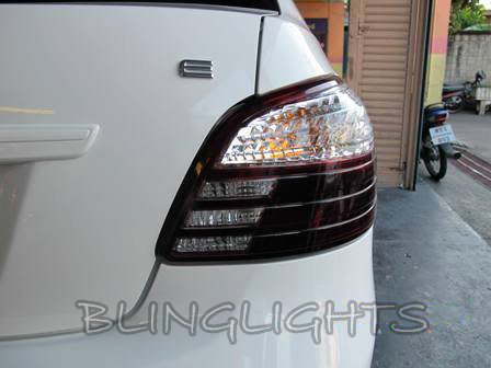 Toyota Vios Tinted Smoked Protection Overlays Film for Taillamps Taillights Tail Lamps Lights