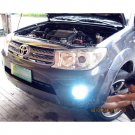 2009 2010 2011 2012 Toyota SW4 Halo Fog Lamps Angel Eye Driving Lights Foglamps Foglights Kit