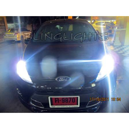 Ford Fiesta IV V VI Bright White Upgrade Replacement Light Bulbs for Headlamps Headlights