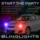Pontiac Vibe Police Strobe Light Kit for Headlamps Headlights Head Lamps Lights Strobes